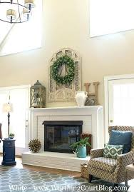 decor above fireplace best dwelling fireplace mantel decor images on for