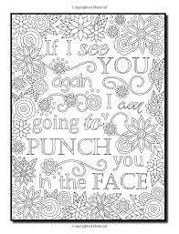 Sweary coloring page potty mouth 1 swearing by sueswears on etsy from coloring pages for boyfriend , source:pinterest.com. Pin On Coloring Pages