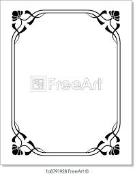 Frame For Word Decorative Frames