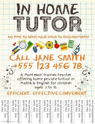 Tutor Flyer Templates Small Business Flyer Templates Postermywall Tutoring