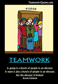 Teamwork Quotes Funny Mesmerizing Funny Teamwork Quotes For Work Telephone Fun Teamwork Poster
