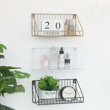 furniture industrial wall mounted shelf