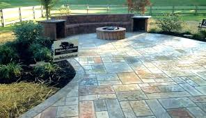 stamped concrete patio cost cement or stylish ideas poured cement patio cost best of perfect stamped