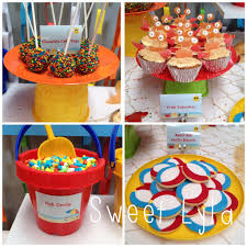 First Birthday Beach Party Has Some Amazing Decorating And Party