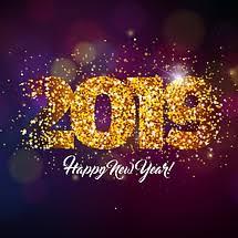 0 new year 2019 glitter