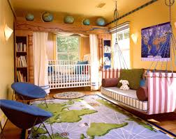 Bedroom:Unique Kids Room Decorating With Car Bunk Bed Idea Magnificient Boys  Room With Wall
