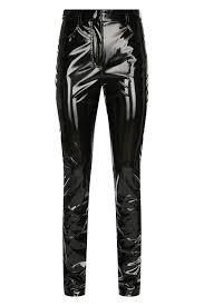 Лакированные <b>брюки Tibi</b> Брюки Черный на BABOCHKA.RU