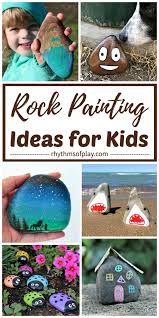painted rocks and rock painting ideas