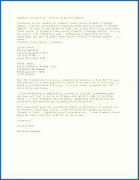 Cover Resume Letter Resume For Job Letter Resume Letter For Fresh Graduate Sample Of Job 41