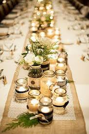Glass Jar Table Decorations Best Diy Wedding Centerpieces With Mason Jars Photos Styles 6