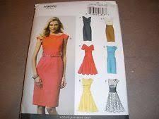 Vogue Patterns Dresses Unique Vogue Patterns Sewing Pattern Dresses EBay