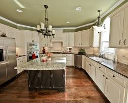 Perfect Kitchens With White Cabinets And Green Walls Kitchen Decor Intended Creativity Ideas