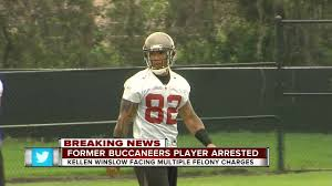 former tampa bay buccaneers tight end kellen winslow ii charged with kidnapping and