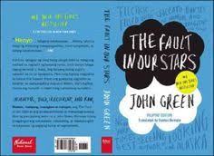 the fault in our stars tfios book cover front back miniature book