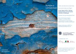 The Italian Play 2018 Europa A Lampedusa The University Of Edinburgh