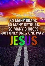 Image result for there is only one path to god jesus christ