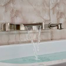 wall mount waterfall faucet