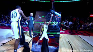 2013 Sprite Slam Dunk Contest - Jeremy Evans Dunks Over Painting - YouTube