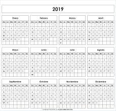Calendario 2019 Excel Quantita