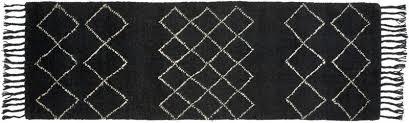 white and black runner rug signor black runner black and white geometric runner rug white and black runner rug