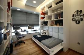Home Office In Bedroom Small Home Office Guest Room Ideas With