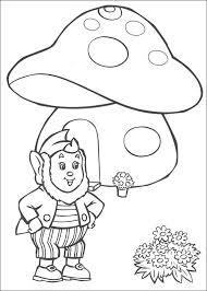 Kids N Fun Kleurplaat Noddy Groot Oor Voor Zn Huis