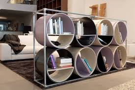 Recycling Plastic And Metal Pipes For Unique Furniture