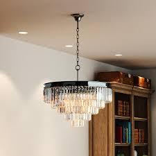 full size of odeon crystal fringe chandelier orb floor lamp parts uk tier modern ceiling