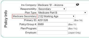 Medicare Claim Form Simple Medicare Secondary Payer MSP Code Therabill