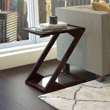 living room tables. Zeta Side Table (Mahogany Finish) By Urban Ladder Living Room Tables M