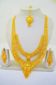 Long Rani Haar Designs In Gold Gold Plated Indian Rani Haar Necklace Long Filigree Layered