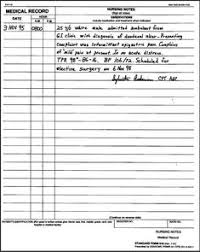 Example Of Nurses Notes In A Chart Sample Nursing Notes Lamasa Jasonkellyphoto Co
