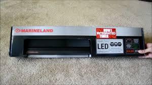 Marineland Aquatic Plant Led Lighting System Review Marineland Aquatic Plant Led Light Fixture Unboxing