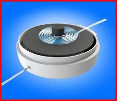 retractable reel for oxygen hose hose