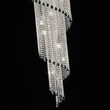 creative home design delightful art deco style vertical swarovski crystal chandelier juliettes with regard to