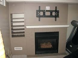 mounting a tv over a fireplace what cables to run behind flat screen over fireplace for mounting a tv over a fireplace