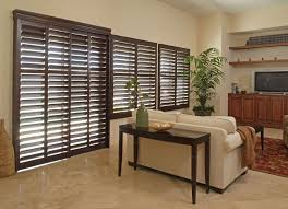 shutter for sliding door in arizona this is a wood shutter for sliding glass door