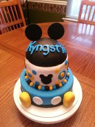 Baby Mickey Centerpieces  Buscar Con Google  Mickey Mouse Baby Baby Mickey Baby Shower Cakes