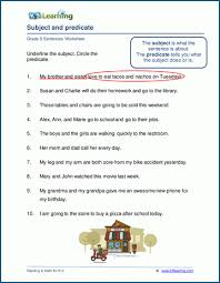 So far you can see we have a variety of sets of worksheets that deal with beginning sounds and rhyming and we are working on more. Grade 5 Grammar Worksheets K5 Learning