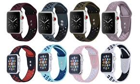 Up To 75% Off on <b>Silicone Band for</b> Apple Watch | Groupon Goods