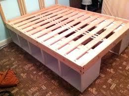 Ikea Bedroom Hack Best Platform Bed Ideas On Bed Frame Room Ideas And Bed  Ideas Diy