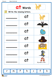 From novice to master learners. Word Family At Word Grids English Phonics Worksheet English Treasure Trove