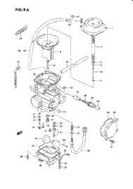 1995 suzuki quadrunner (lt f250) oem parts, babbitts suzuki partshouse Suzuki Quad Runner Wiring Diagrams carburetor (model l m n p r s t