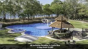 all inclusive paradise in costa rica