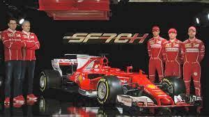 2017 Ferrari Formula 1 Ferrari Sf70h 2017 F1 Season Youtube