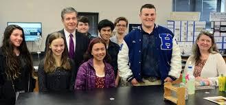 Gov. Cooper promotes bond proposal during visit to Brevard High - News -  Hendersonville Times-News - Hendersonville, NC