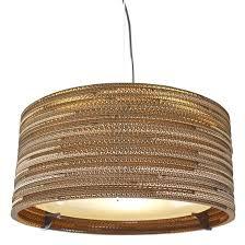 drum pendant lamp inch light white shade