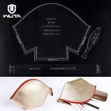 Leather Templates Wuta Eyeglasses Case Holder Leather Stencil Template Acrylic Craft