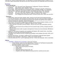 qa sample resume enchanting sample resume for an entry level qa software tester sample qa qa sample resume cover letter qa tester cover letter