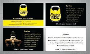Personal Trainer Program Design Templates Best Personal Trainer Business Cards Stunning Training Program